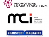Logo promotions andre pageau, tm, mci