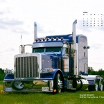 Peterbilt 389 2015 Brother Yves Lachance F.Express